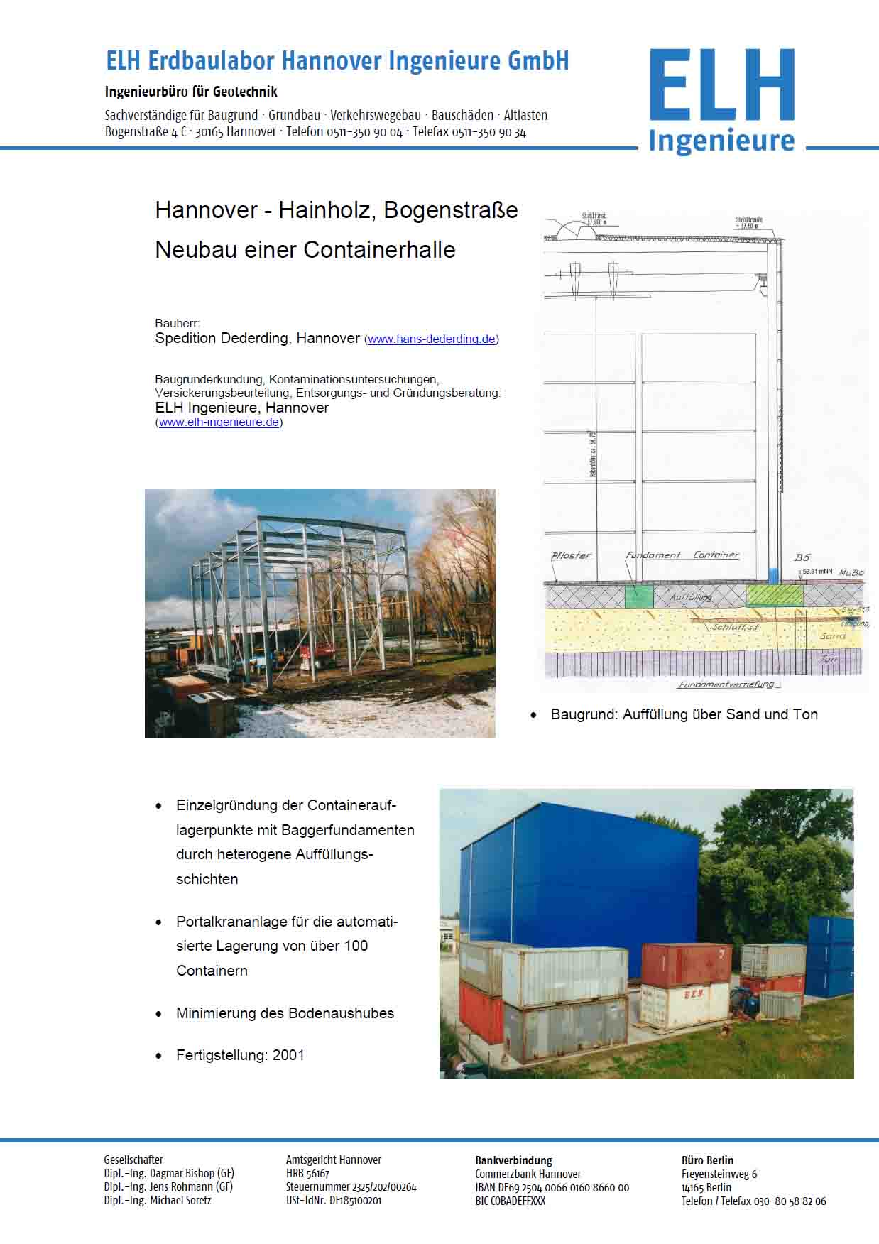 19 PB H Hainholz Container